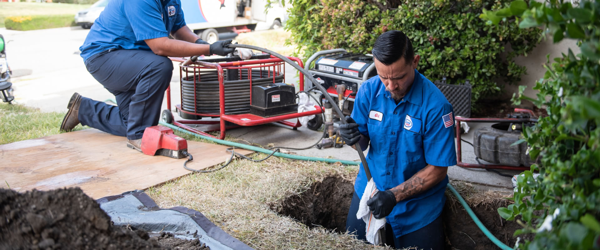Drain Cleaning in Franciscan Village