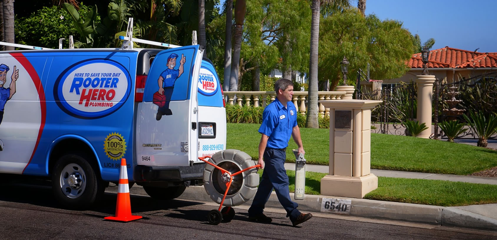 Drain Cleaning in Tustin
