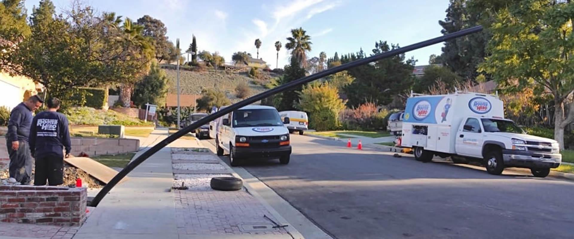Trenchless Sewer Repair in San Lorenzo, CA