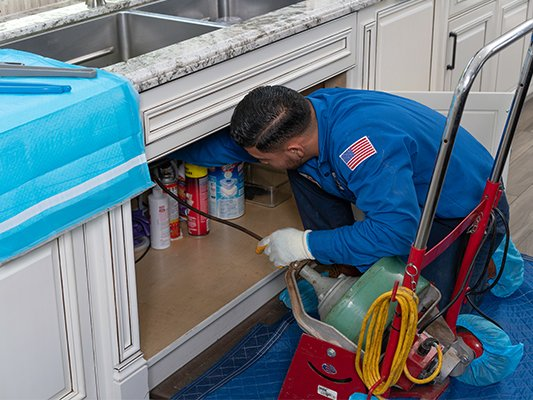 Drain Cleaning in Sun City