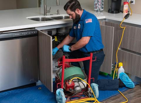 Drain Cleaning in Mira Mesa