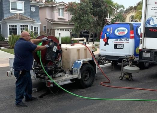 Sewer Repair in Rancho Penasquitos
