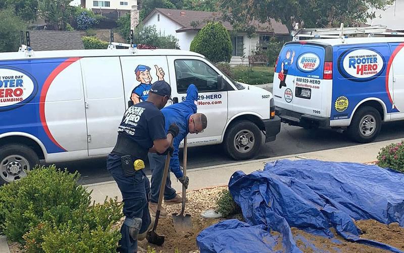 Sewer repair in Scottsdale