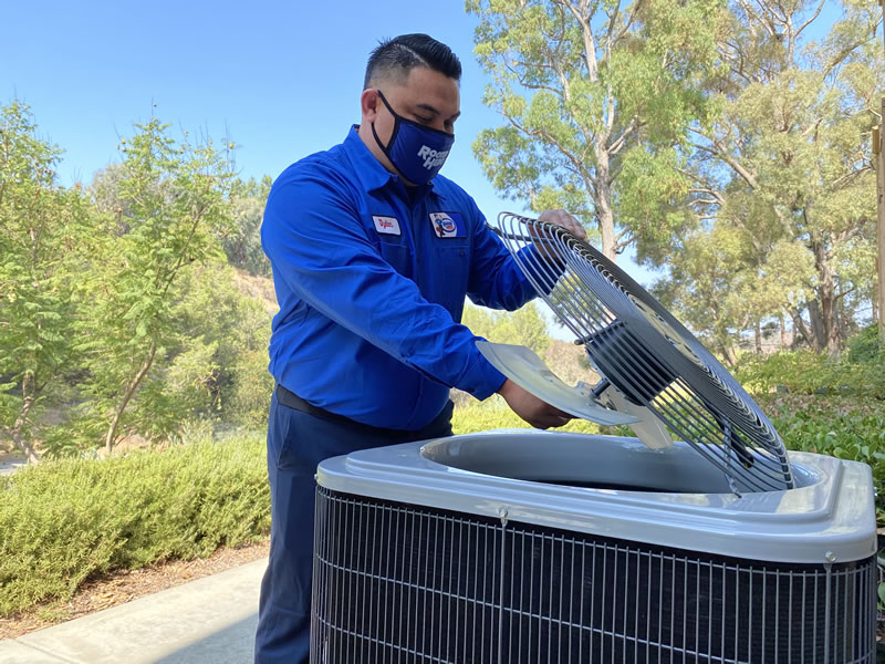 Heating repair in Escondido