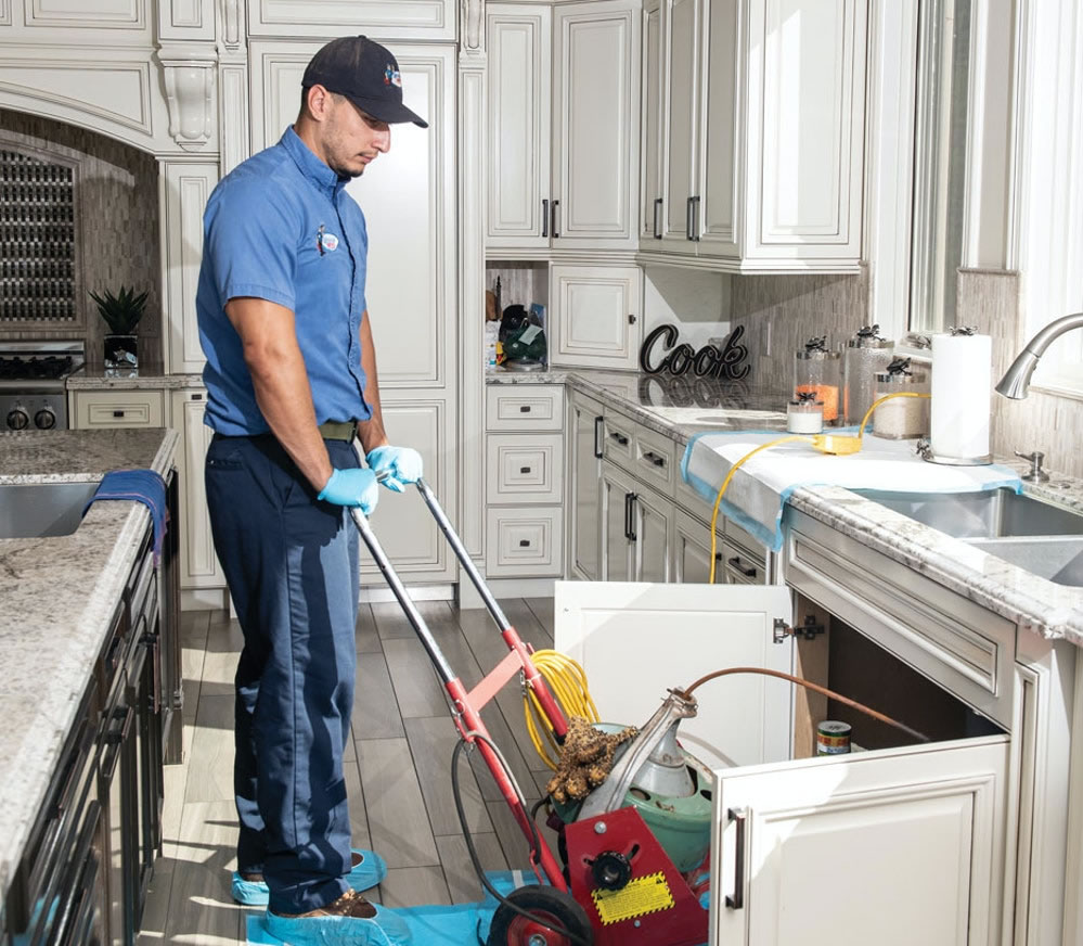 Drain Cleaning in Stanford