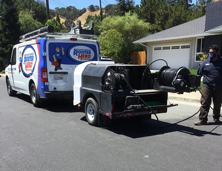 Trenchless Sewer Repair in Los Altos Hills