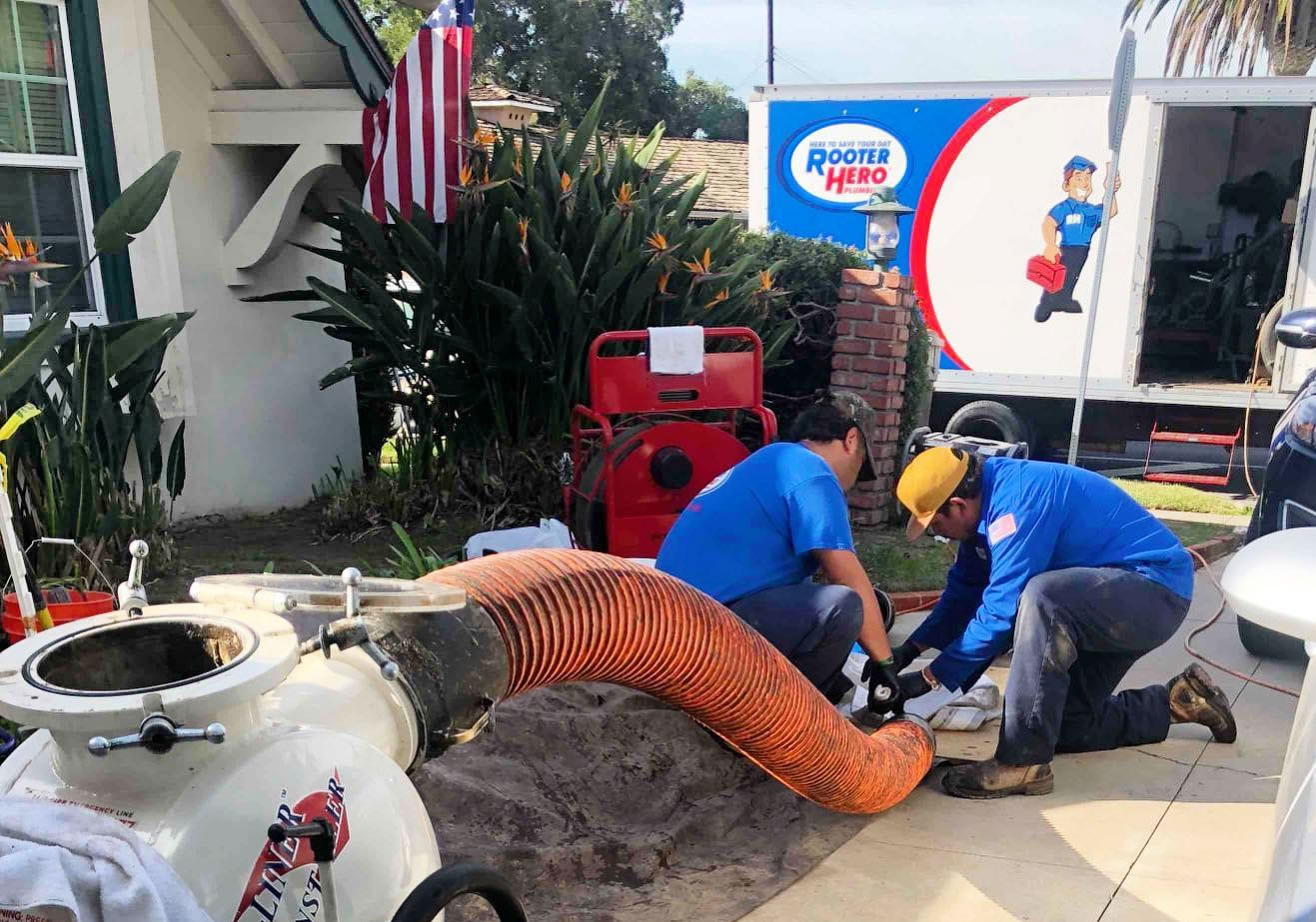 Trenchless Sewer Repair in Solvang, CA