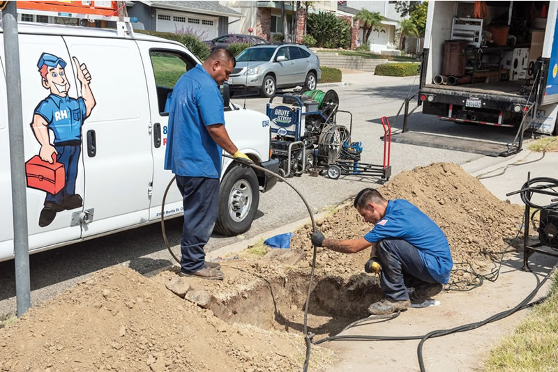 Trenchless Sewer Repair in Upland, CA
