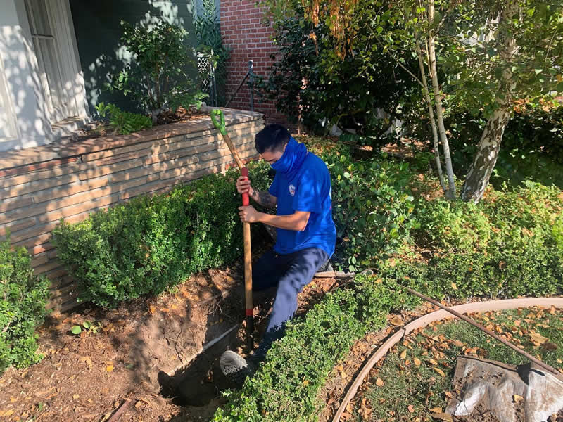 Trenchless Sewer Repair in Irvine, CA