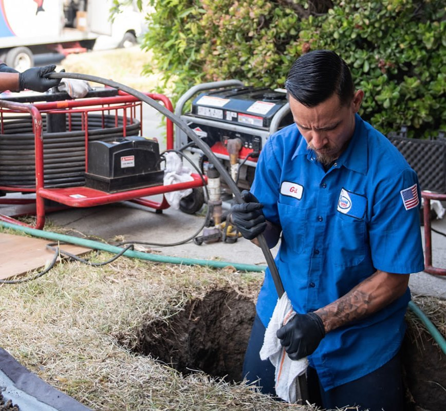 Trenchless Sewer Repair in Tustin, CA