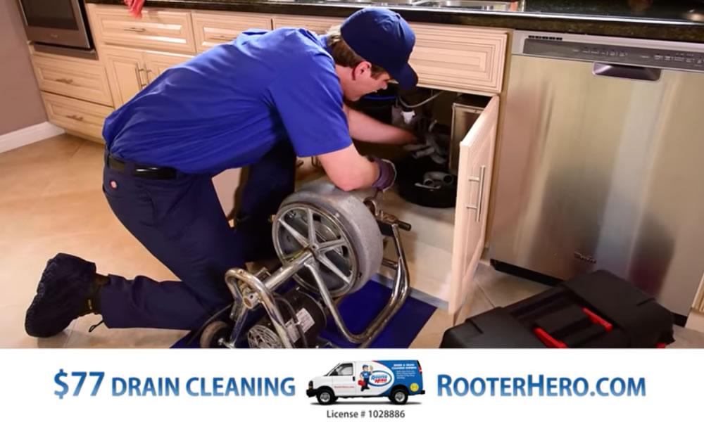Rooter Hero Plumbing TV Commercial