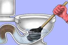 the toilet overflows
